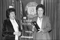 Soroptimist International awards ceremony (1981-1982)