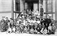 Garfield Elementary and Alhambra High at the turn of the century