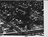 Aerial view of Monterey Park in 1949