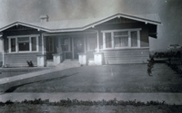 Home of Addie Hinton, which was built in 1913 at the cost of $2,500