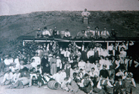 Summer celebration at the Garvey Ranch House in 1910