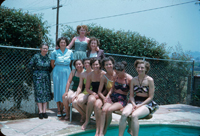 Neetneves social club meeting at 622 De la Fuente St in 1952